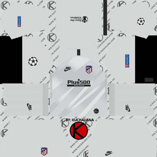 Atletico Madrid 2019 2020 Kit Dream League Soccer Kits Kuchalana