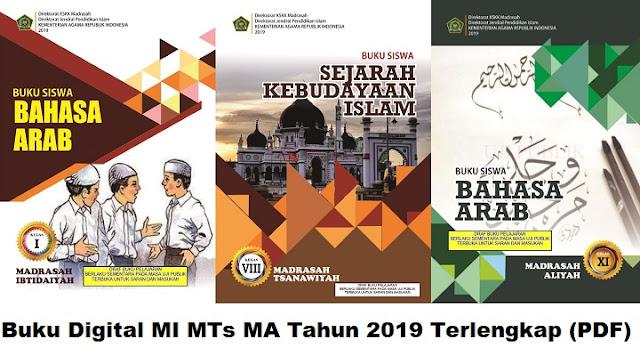 Buku Digital MI MTs MA Tahun 2019