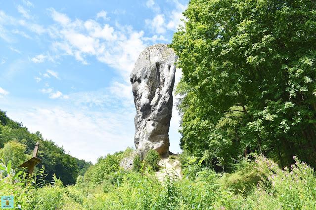 Maza de Hércules en el Parque Nacional de Ojców, Polonia