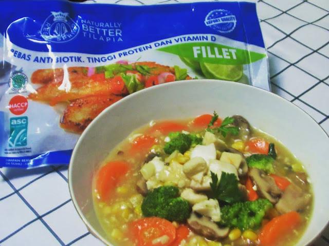 Sup kental Tilapia