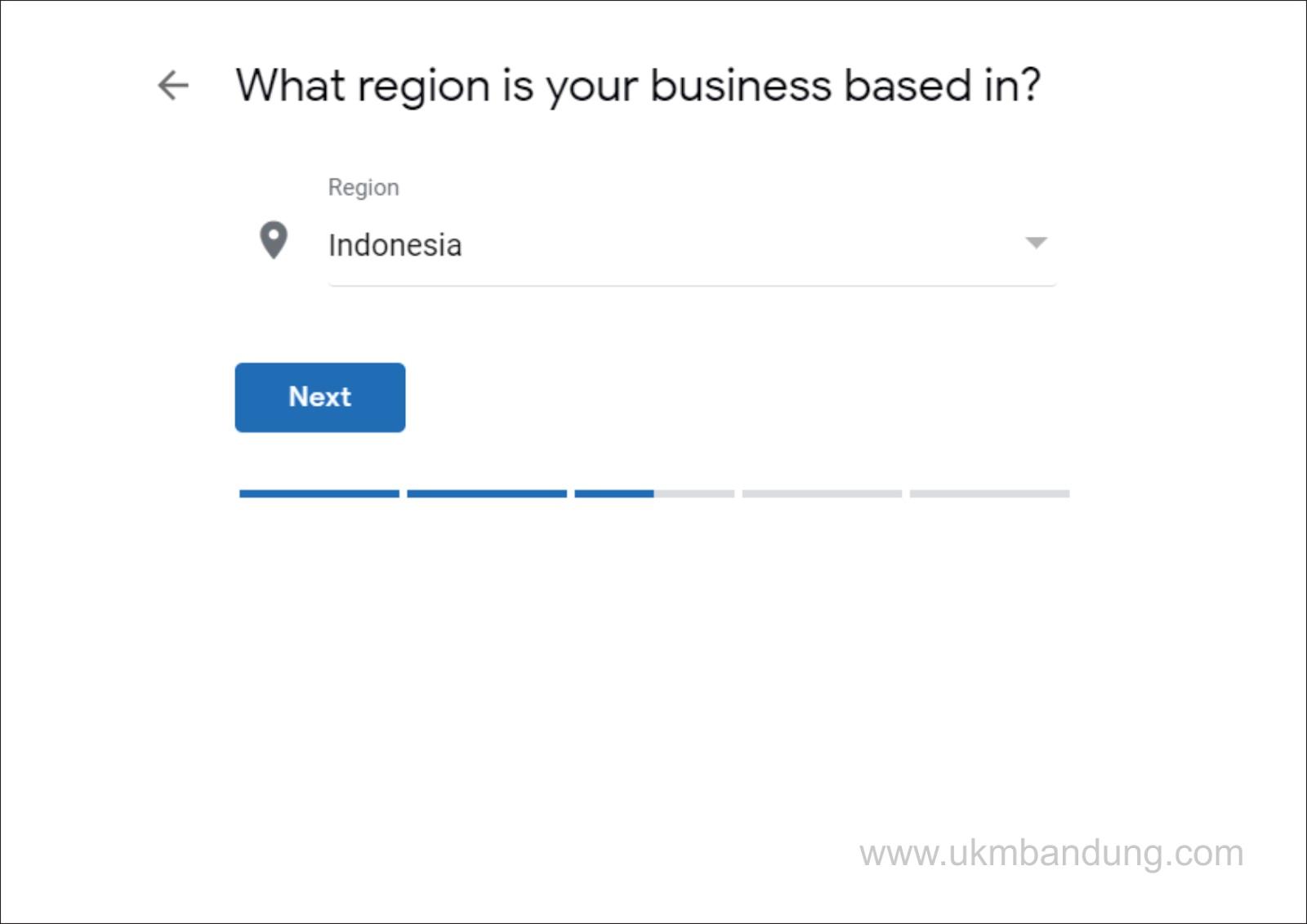 ditanya tempat atau lokasi menjalankan bisnis - jawab saja di Indonesia.