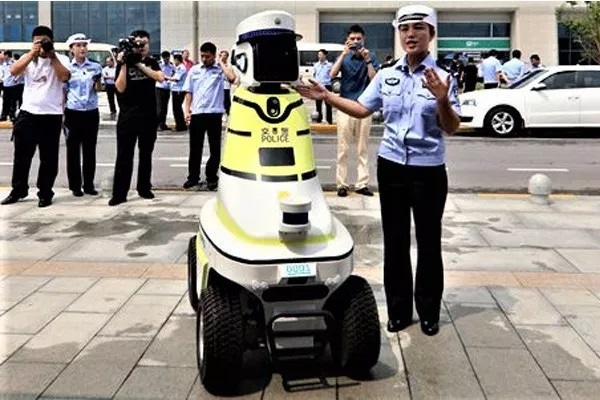 See Photos Of The New Robots China Now Uses For Traffic Control Duties