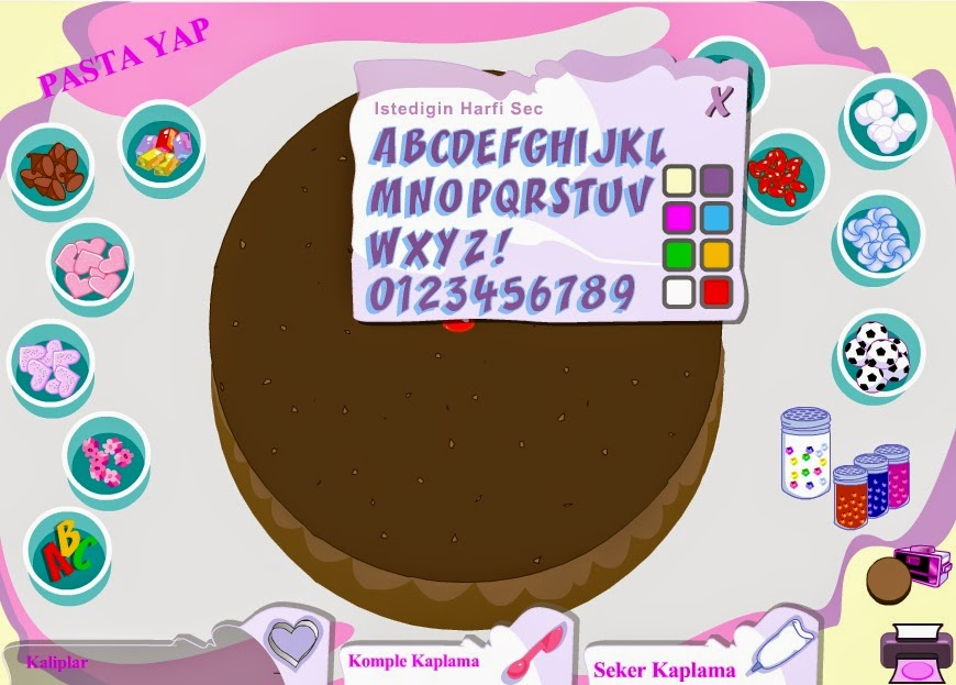 About Game Choose Ingredients And Decorate Your Birthday Cake