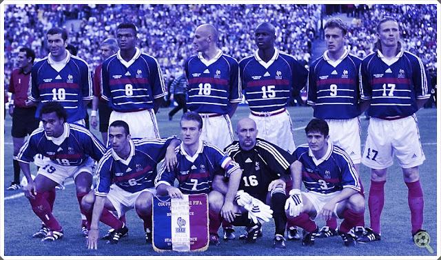 França 1998 France Les Bleus 1998