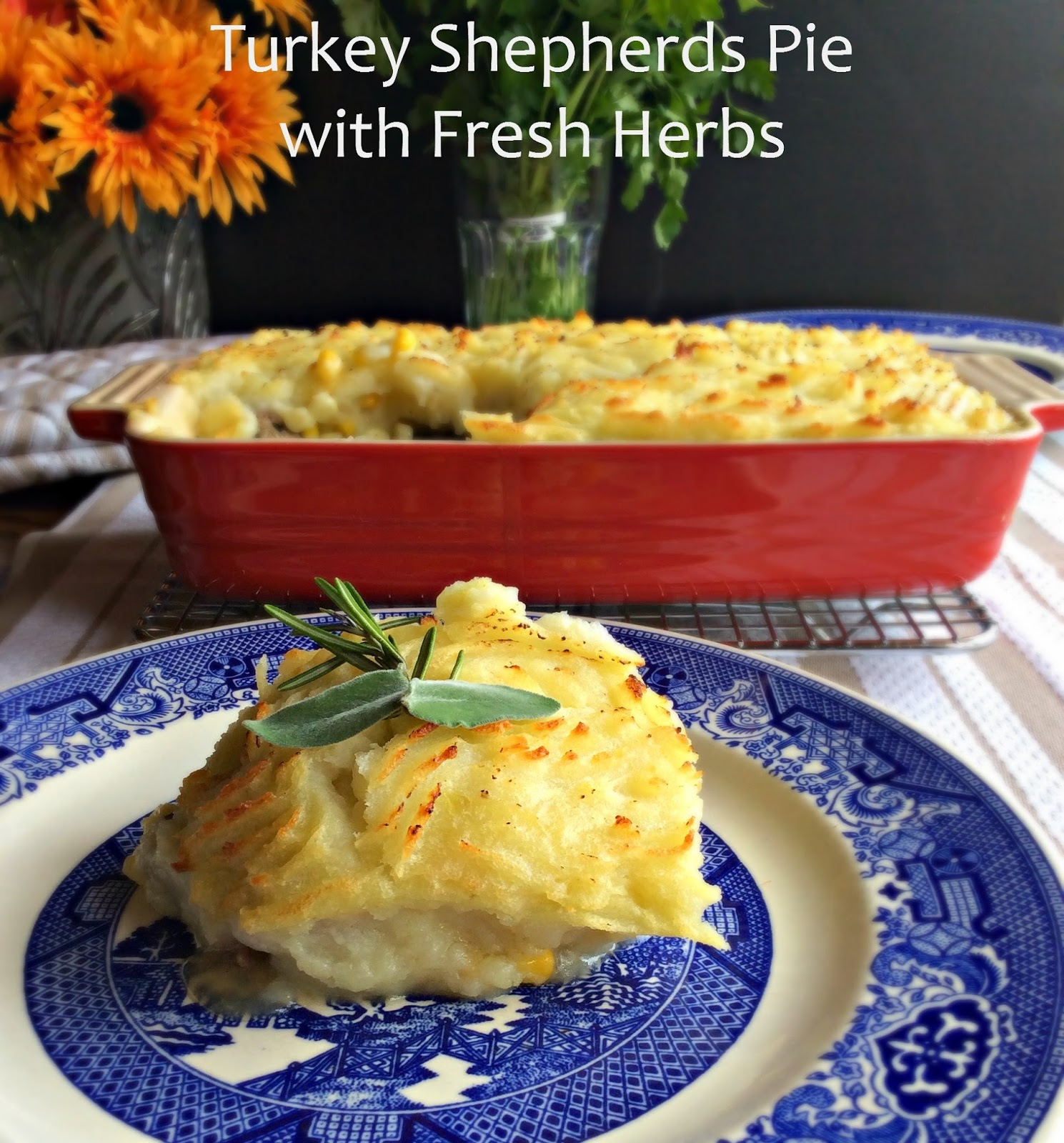 ... his easy to make ground turkey shepherds pie is bursting with flavor