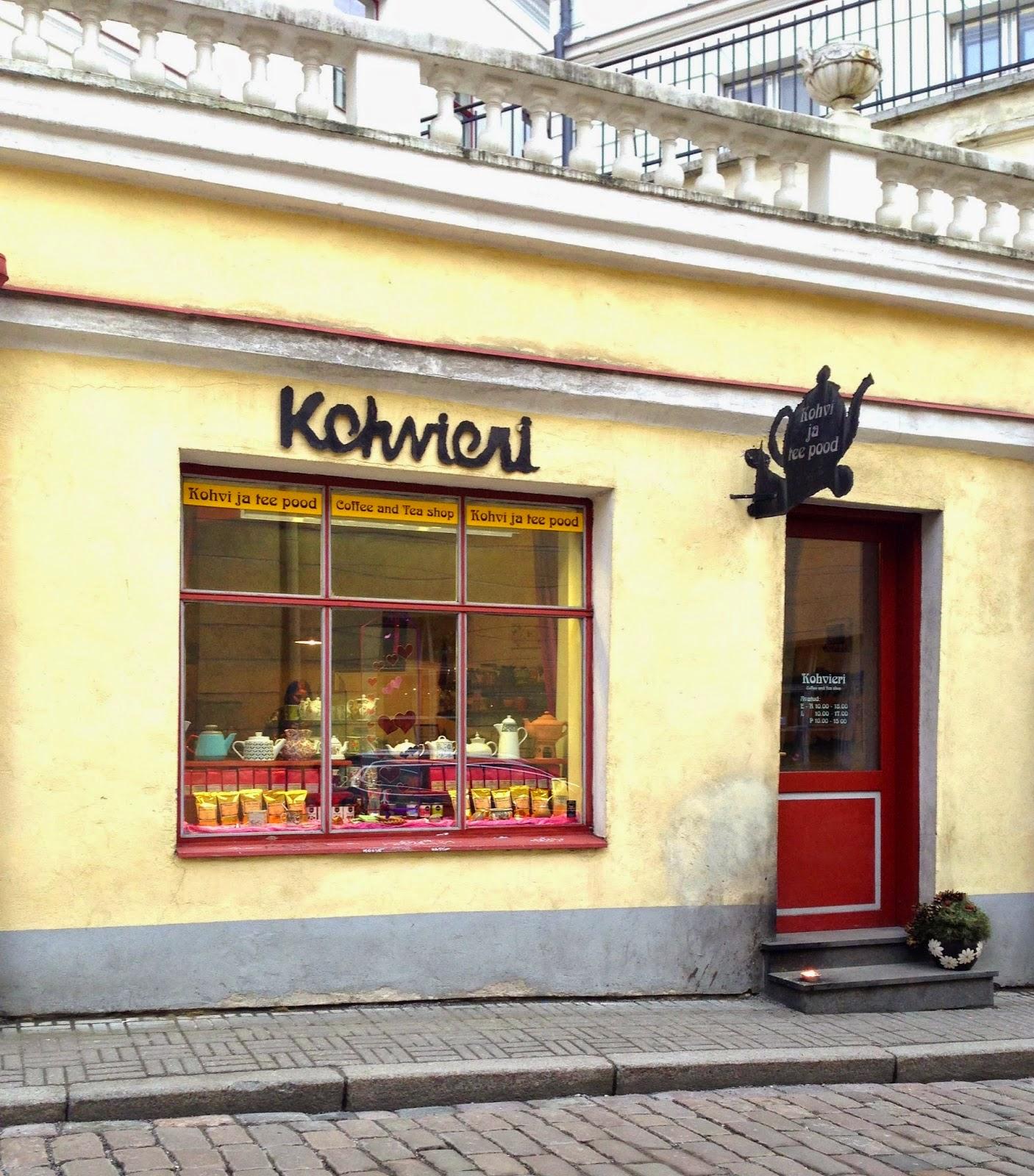 Kohvieri Old Town Tallinn Estonia