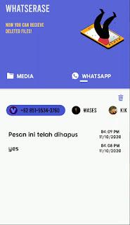 Cara Mengembalikan dan Lihat Pesan Whatsapp Yang Dihapus Teman