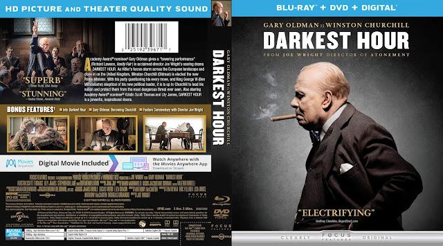 Darkest Hour Bluray/DVD Cover