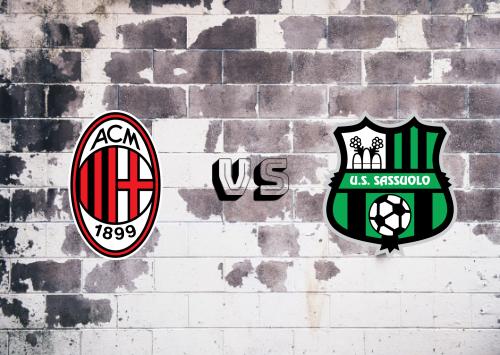 Milan vs Sassuolo  Resumen y Partido Completo