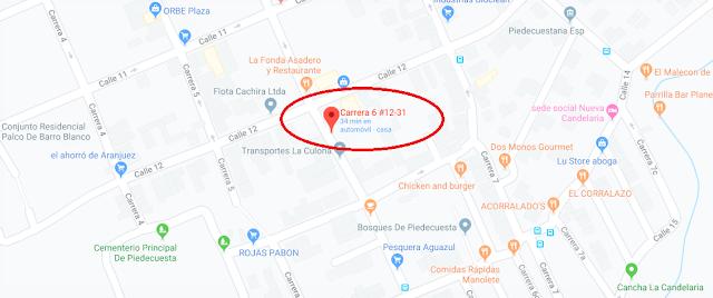 VENTA REMATE PARQUEADERO PARKING CENTRO COLOMBIA