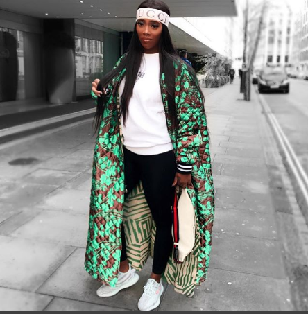 Tiwa Sawage Made Vogue's Top 10 Female Stylish Celebrity To Follow On On Instagram