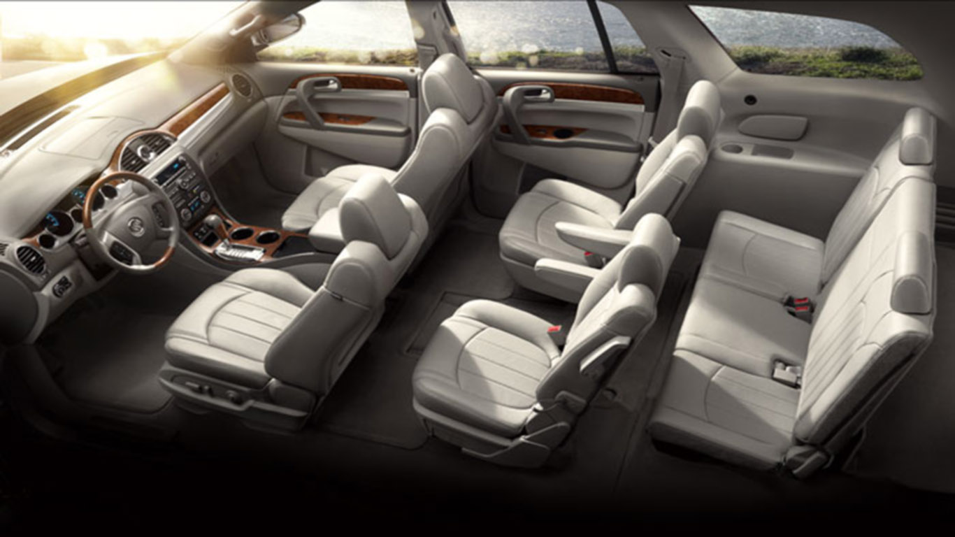 Buick Enclave 2012 Design Safety And Unparalleled Luxury