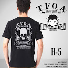 jas exclusive t shirt crows zero  tfoa (h 5) 1