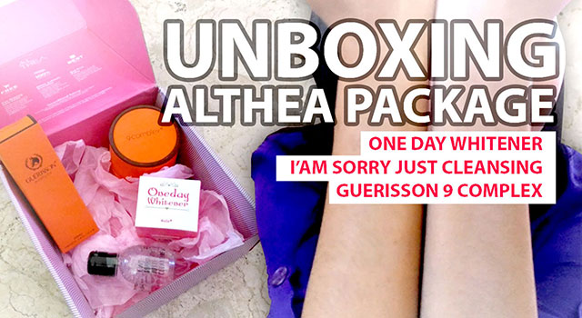 Unboxing Althea Package