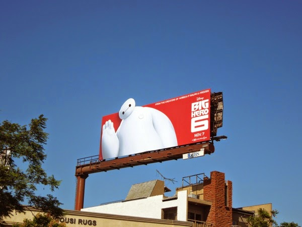 Big Hero 6 special extension movie billboard