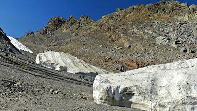 Najpiękniejsza droga Austrii lodowiec Kaunertal latem