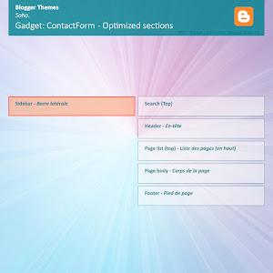 Emplacement optimisé Widget ContactForm - Layouts V3 (Soho)