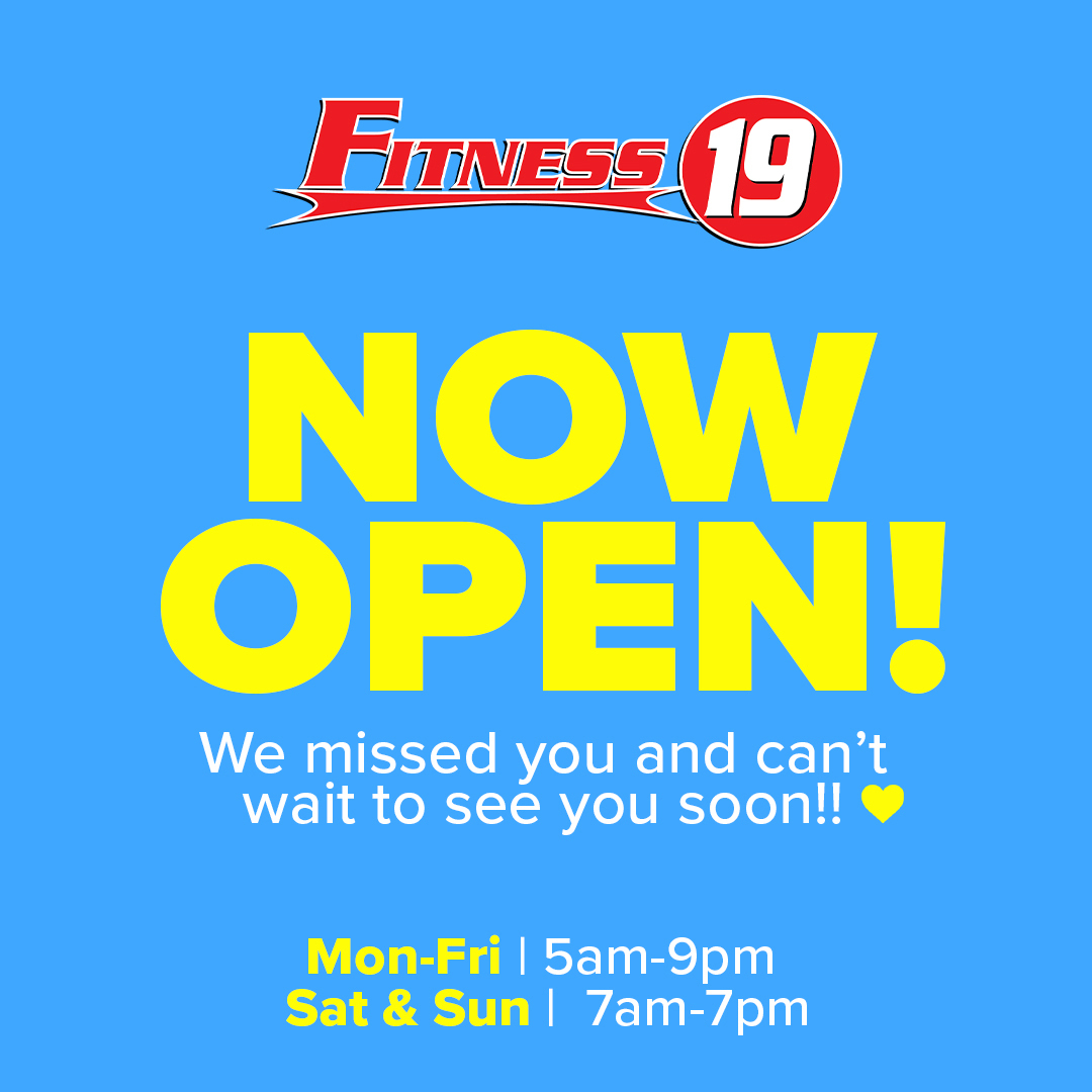 Fitness 19 Reopens To Serve Its Clients In Menifee Menifee 24 7
