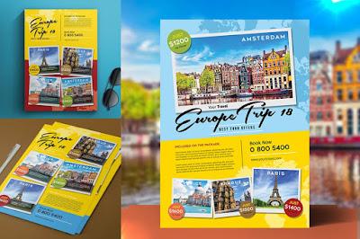 Contoh brosur perjalanan wisata