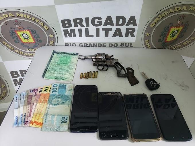 Roubaram um supermercado em Canoas e foram presos em Cachoeirinha