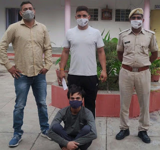 PHQ Jaipur News- SDRF campaign continues, two smugglers arrested in Barmer, absconding rape accused arrested from Delhi