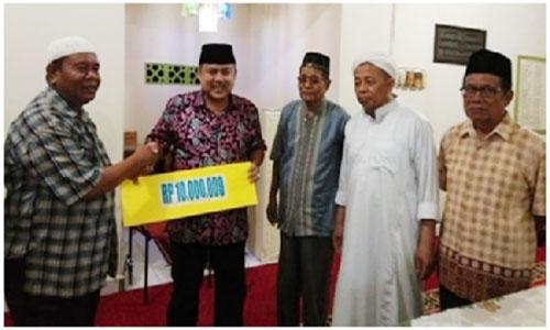 Wahyu : Mari Dukung pembangunan kota Padang ,Jangan Terpecah Belah Karena Pemilu