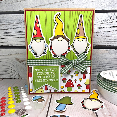 Lisa Mears Card Designs - The Stamps of Life April Card Kit - Card 5