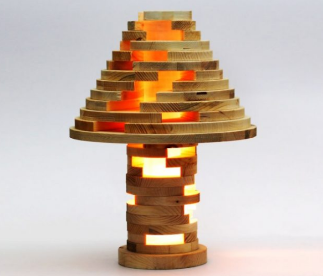 GREAT WOODEN LAMP DESIGN