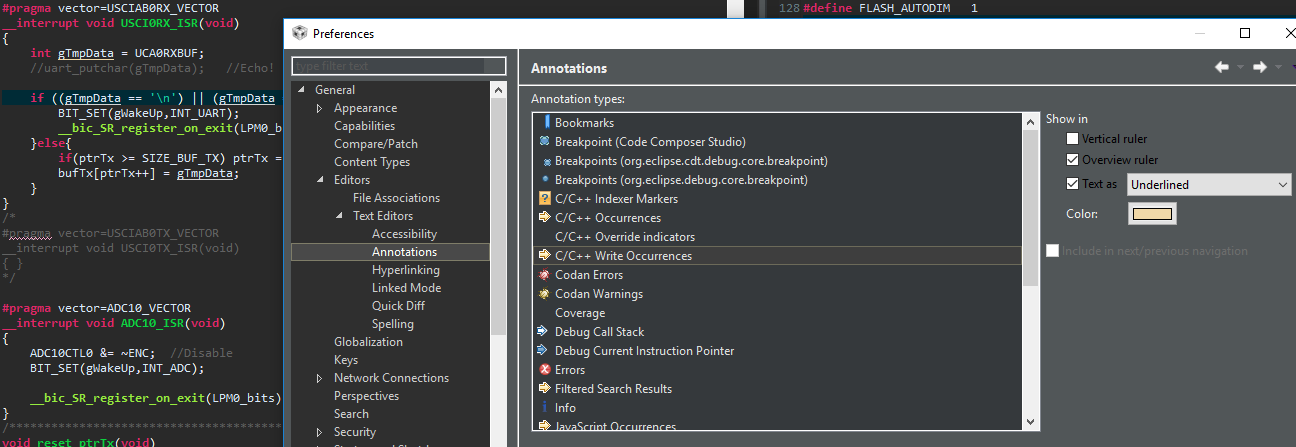 Editor] EClipse - Dark Theme Occurrrence Highlight issue