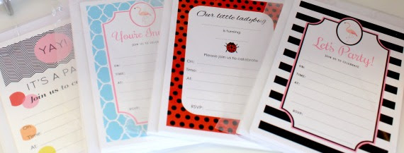 designer boutique birthday party invitations baby shower brisbane stationery custom personalised