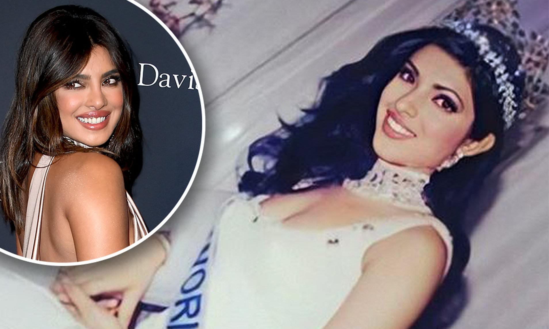 """Priyanka Chopra ने """"Miss World"""" का ताज पहनने के 20 साल पूरे होने का जश्न मनाया।"""