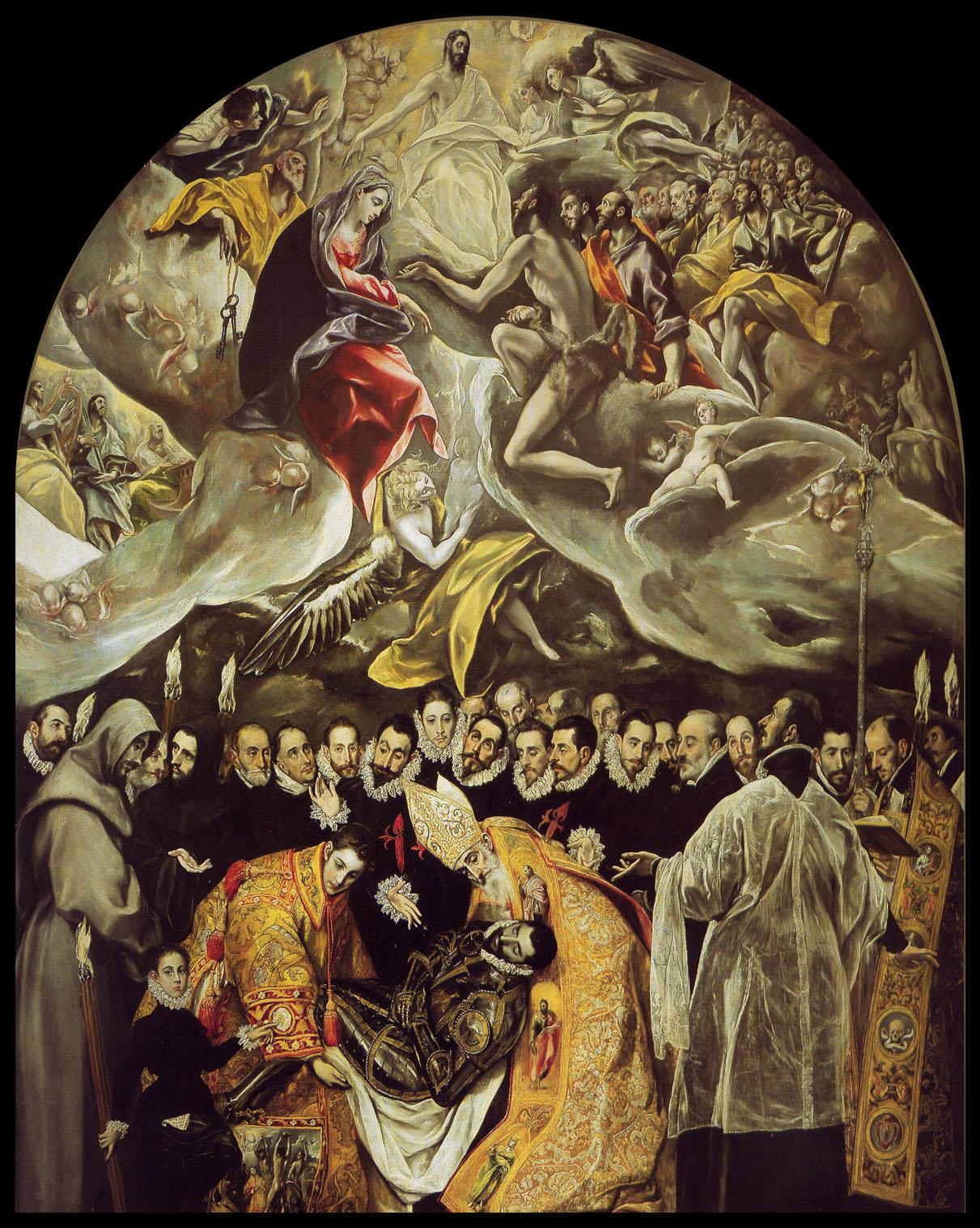 The Burial of Count Orgaz by El Greco | duckmarx