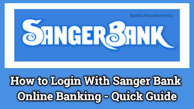Sanger Bank Online Banking Login