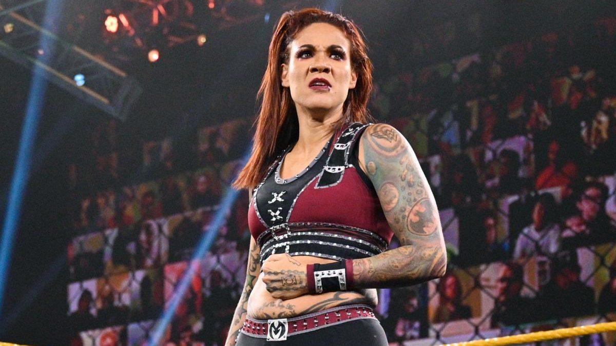 Mercedes Martinez sofreu uma concussão no último WWE NXT