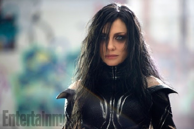 Cate Blanchett como Hela en Thor: Ragnarok