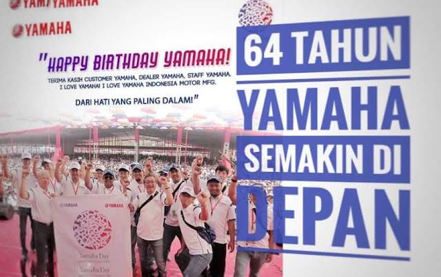 Ucapkan Selamat Ulang Tahun Ke Yamaha, Dapat Motor V-ixion R