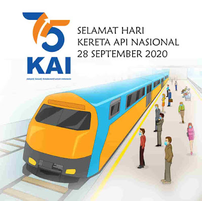 selamat hari kereta api nasional 2020