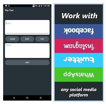 Cara membuat tulisan terbalik di pesan WhatsApp (Upside Down)
