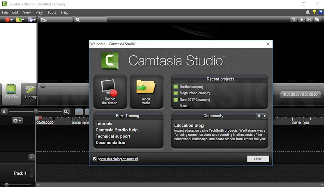 Camtasia Studio 2018.0.0 Full Activation