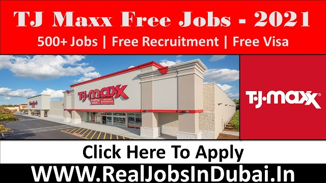 TJ Maxx Company Hiring Staff In USA 2021