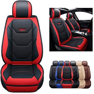 $49.99, SOGLOTY Leather Car Seat Covers