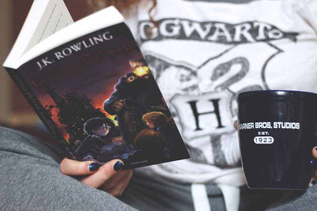 Livre Harry Potter de J.K Rowling