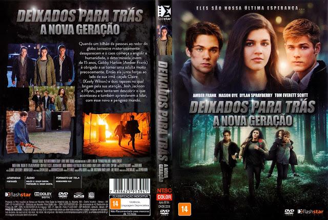 Capa DVD Deixados Para Trás: A Nova Geração