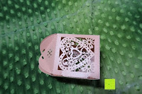 Box Seite: 50pcs Love Heart Laser Wedding Favor Gift Box Kartonage Schachtel Bonboniere Geschenkbox Hochzeit (Pink)