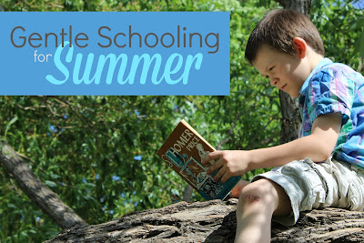 Gentle Schooling Ideas for Summer homeschool