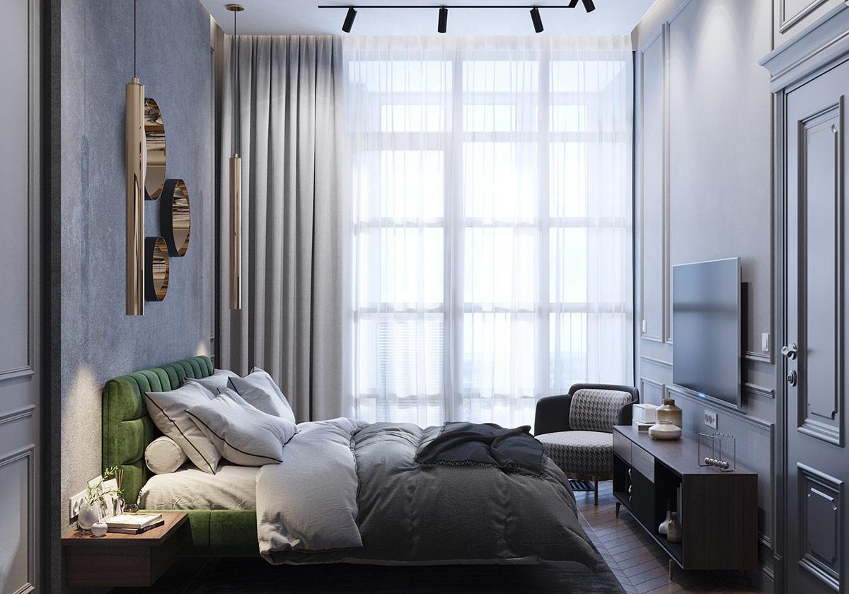 Căn hộ với nội thất tân cổ điển ấn tượng