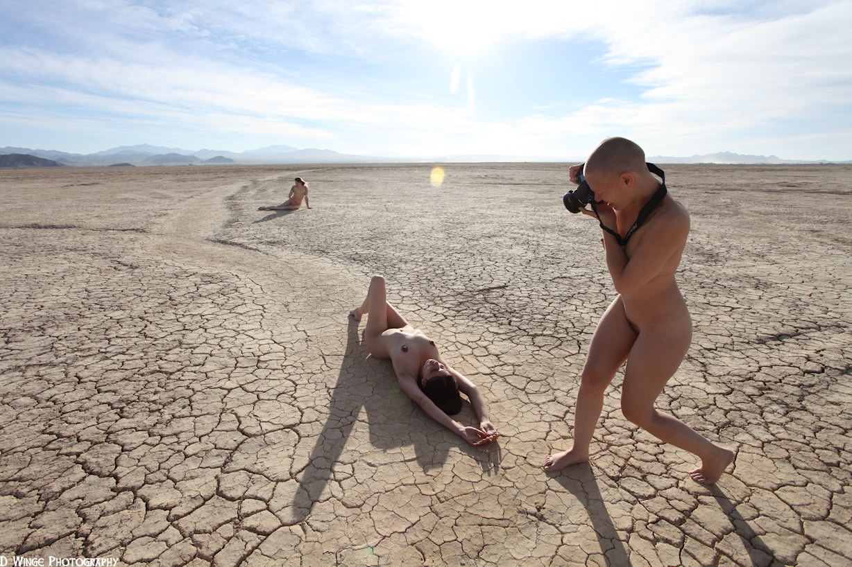 nude sex in desert