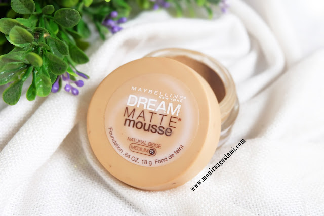 Review Maybelline Dream Matte Mousse Foundation