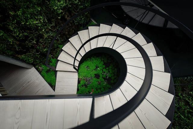 mezzanine staircase design