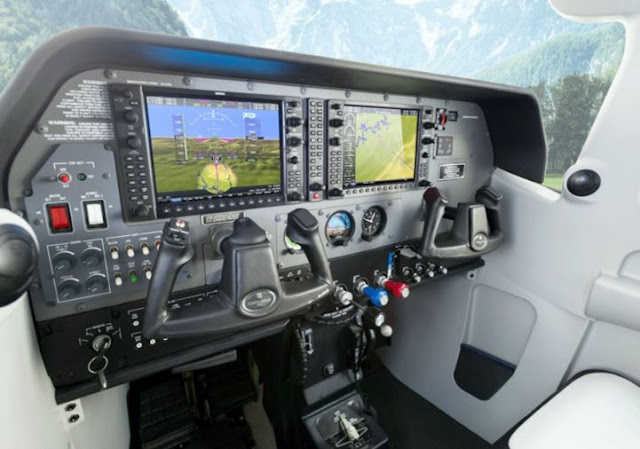Cessna Turbo Stationair cockpit
